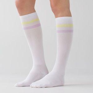 NWOT Lululemon Women's Keep it Tight Socks